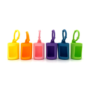 Silicon Protective Sleeve for 15 ML Bottle  - Set of 6