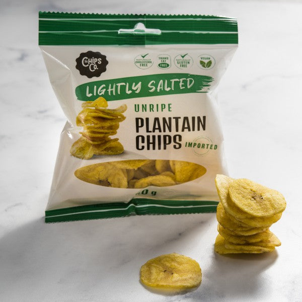 UNRIPE Lightly Salted Plantain Chips