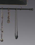 Hanging Earring Holder & Jewelry Organizer - Cats