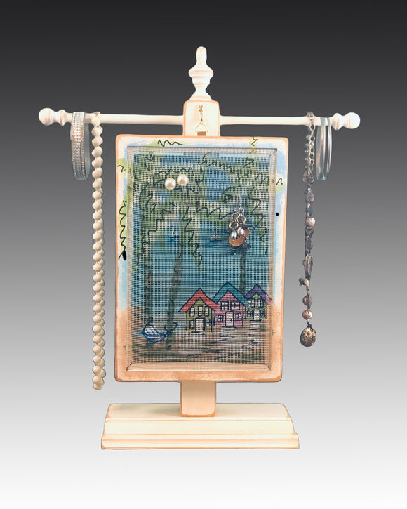 Classic Earring Holder - Beach Houses Earring Holder Gallery
