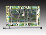Wall Hanging Earring Holder & Jewelry Organizer - Birch Trees