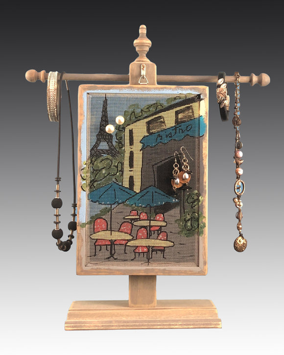 Classic Earring Holder - Bistro