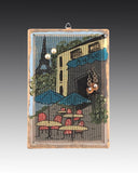 Classic Earring Holder - Bistro - Earring Holder Gallery