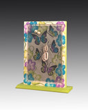 Earring Holder attached to base with Butterflies design
