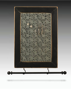 Earring Holder & Jewelry Organizer with diamond design