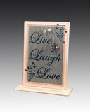 Classic Earring Holder - Live - Love - Laugh