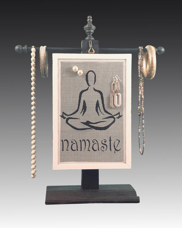 Classic Earring Holder - Namaste