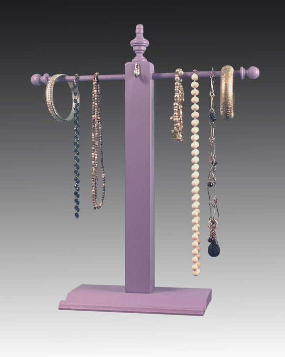 Necklace Stand - Purple Earring Holder Gallery