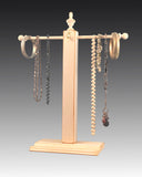 Necklace Stand - White Distressed