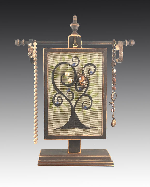 Classic Earring Holder - Tree of Life Earring Holder Gallery