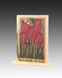 Classic Earring Holder - Tulips