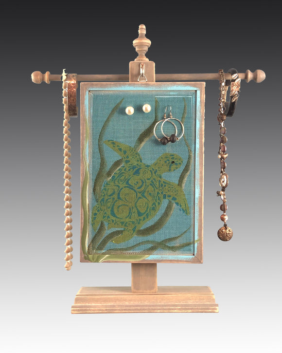 Classic Earring Holder - Sea Turtle