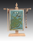Classic Earring Holder - Sea Turtles Design - Earring Holder Gallery