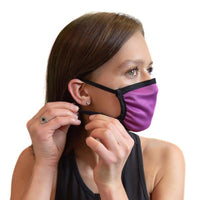 Fuschia Cloth Face With Filter Pouch