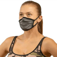 Air Bandit Defendair antimicrobial non-medical mask.  The bamboo mask is N95 compatible but because of current guidelines The Social Media Mask Company does not sell n95 filters
