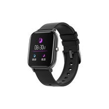 "Afbeelding in Gallery-weergave laden, Smartwatch KSIX Cube HR03 1,3"" OLED 170 mAh Bluetooth 4.0 Zwart"