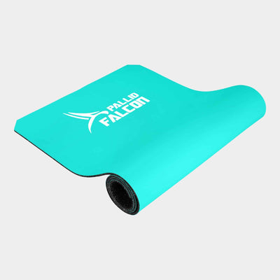 tuerkis schadstofffreie trainingsmatte falcon one von pallid falcon fuer bodyweight training und calisthenics