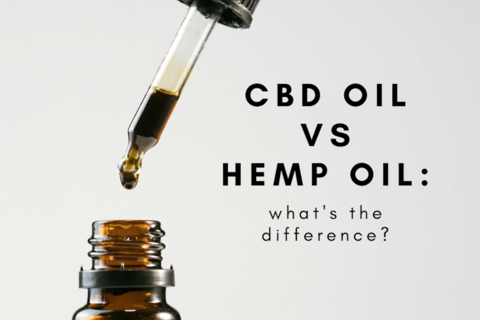differences between hemp oil and CBD oil
