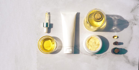 a set of different types of CBD from oil to topical and capsulse