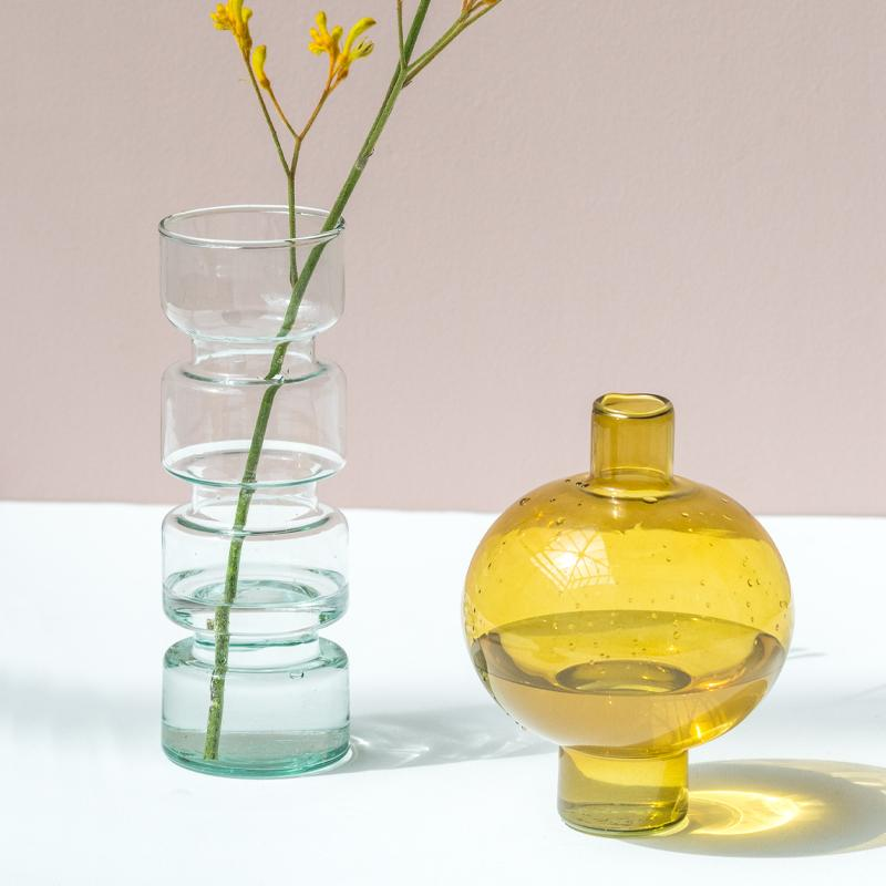 Vase Transparent en verre