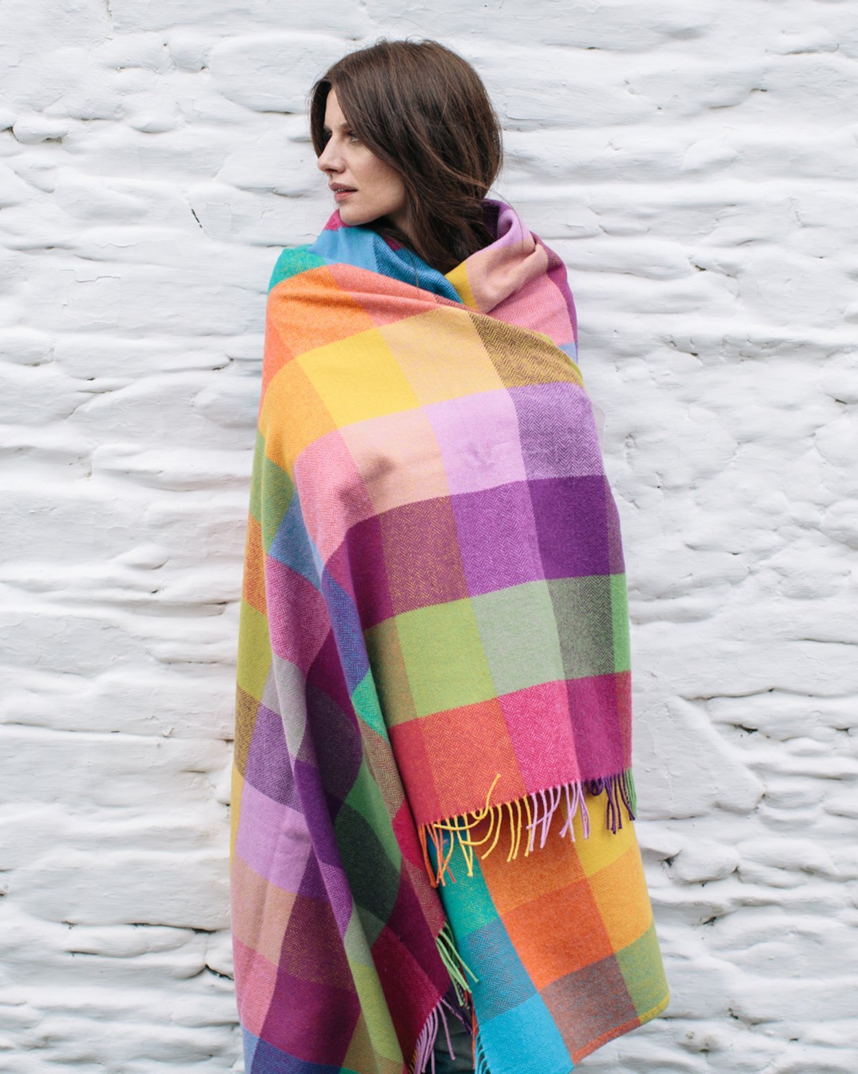 Plaid Lambswool Irlandais - Circus
