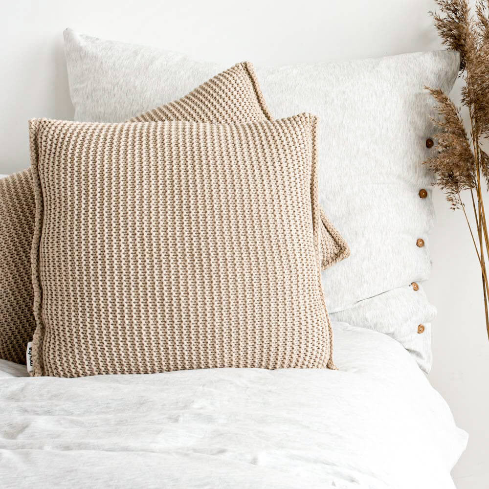 Lazy Morning cushion (square)