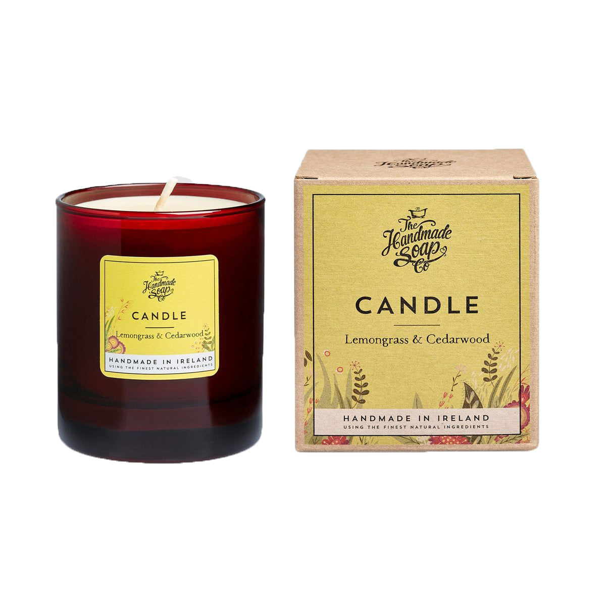 Citronella and Cedarwood Candle
