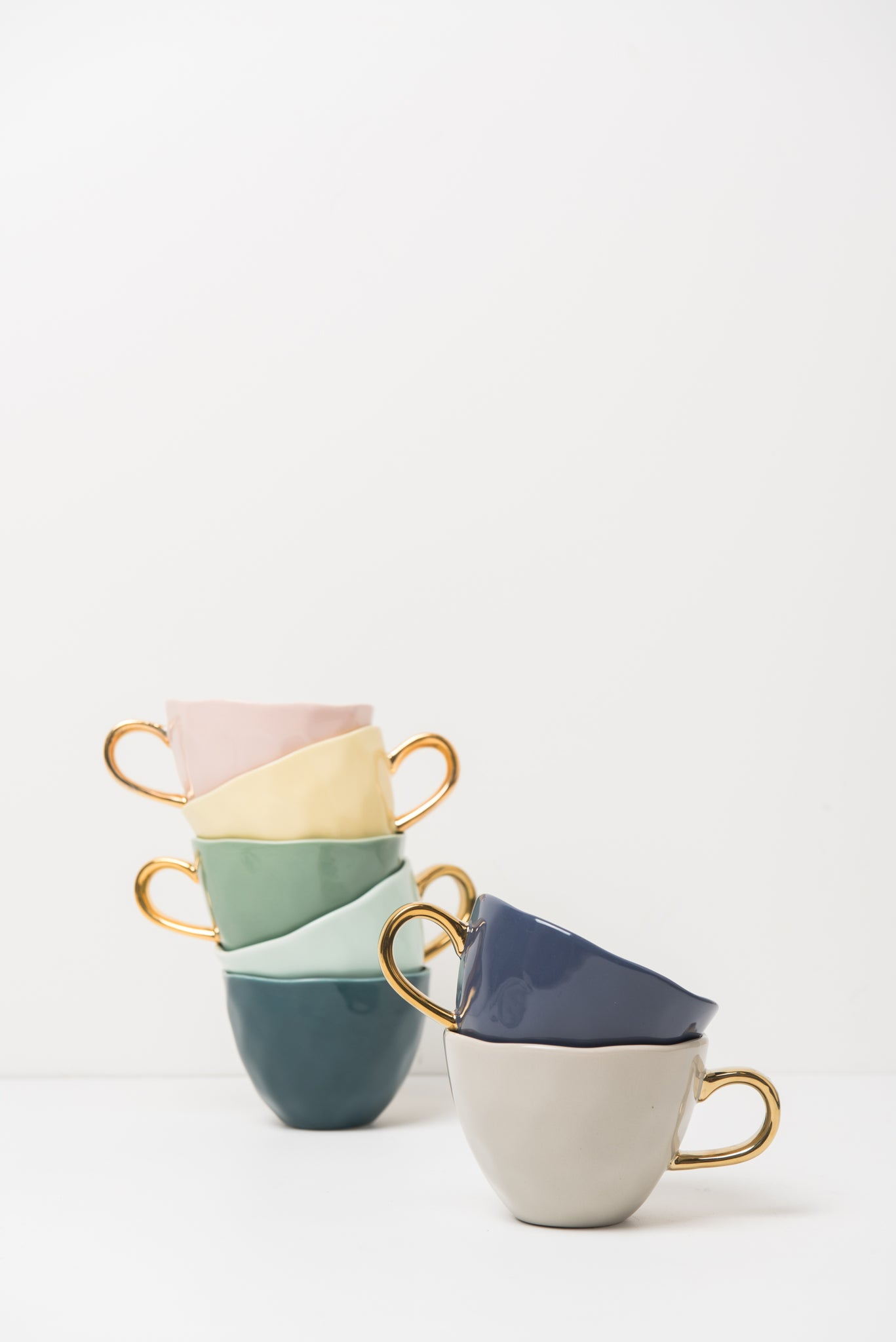 Tasse Couleur/Or Good Morning (L)