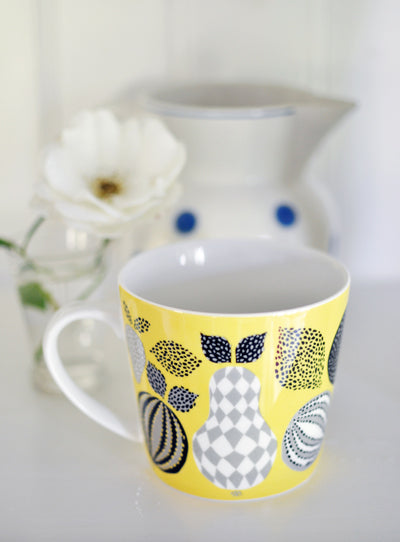 Mug (L) porcelaine Fruit