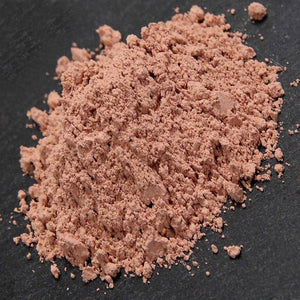 Face scrub with pink clay