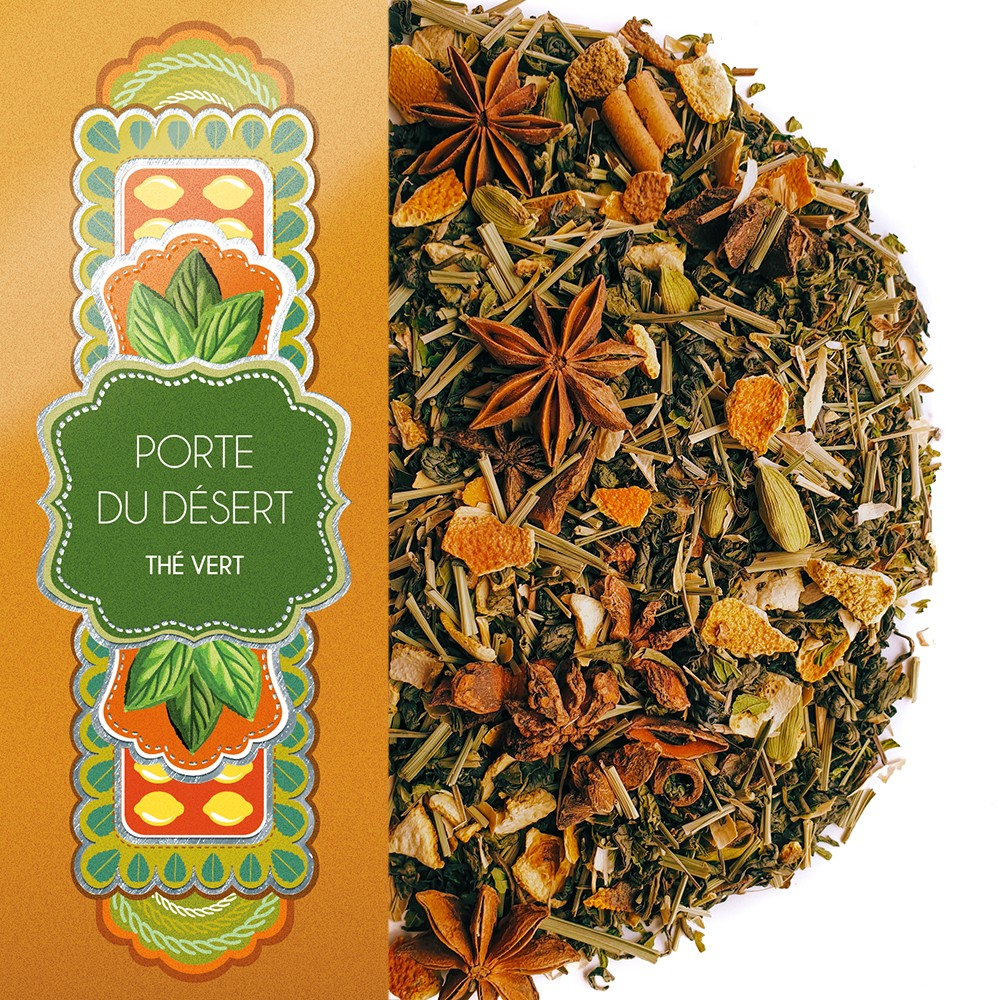 Green Tea Door Of The Desert