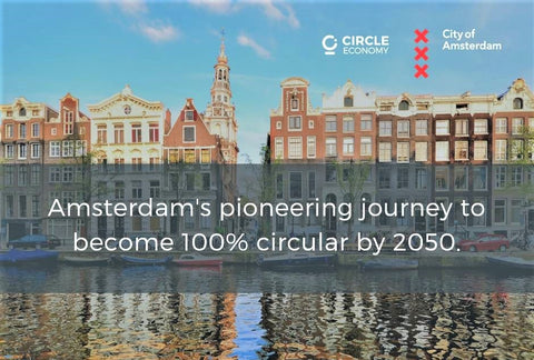 Amsterdam has made a significant step in the transition to becoming one of the world's first circular cities. This city is actively working towards using less raw materials i