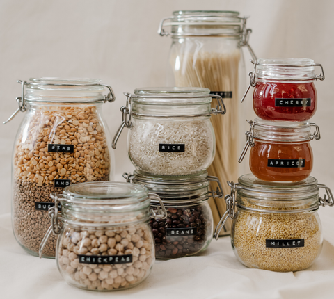 glass containers for food