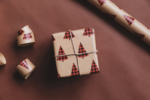 sustainable wrapping paper for gifts