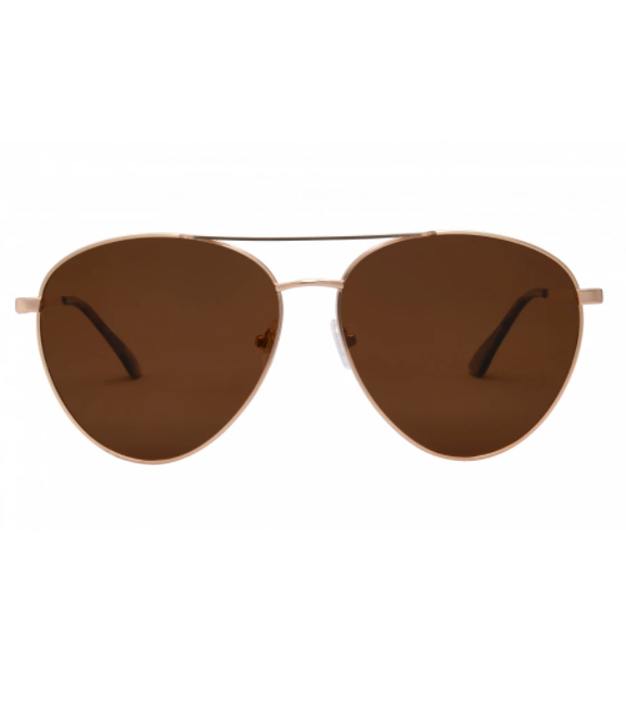 Charlie iSea Sunglasses - Gold/Brown