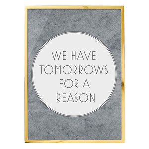 We Have Tomorrows Wall Decor - ClotheBoutique