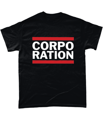 Corporation (RUN DMC Style) Tee