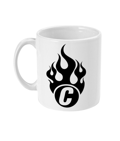 11oz Flaming C Mug