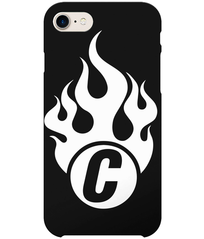 iPhone 7 Full Wrap Fire Logo Case