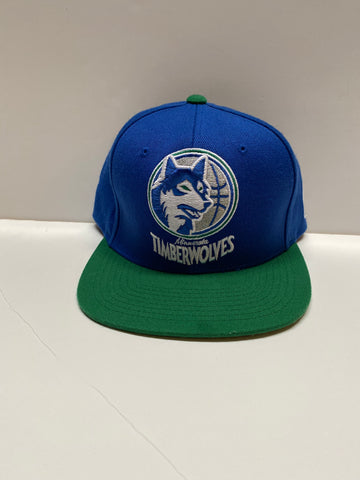 Timberwolves Hat (Mitchell and ness)