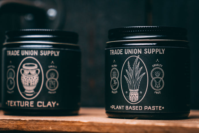 Texture Clay & Plant Based Paste Set