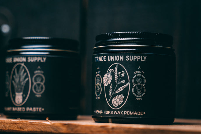 Plant Based Paste & Hemp+Hops Wax Pomade Set
