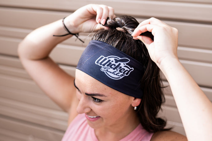 WKD BLK Headband - Wicked Bombshell Apparel