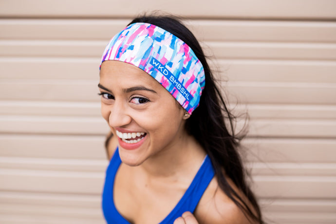 Pink Sherbet Headband - Wicked Bombshell Apparel