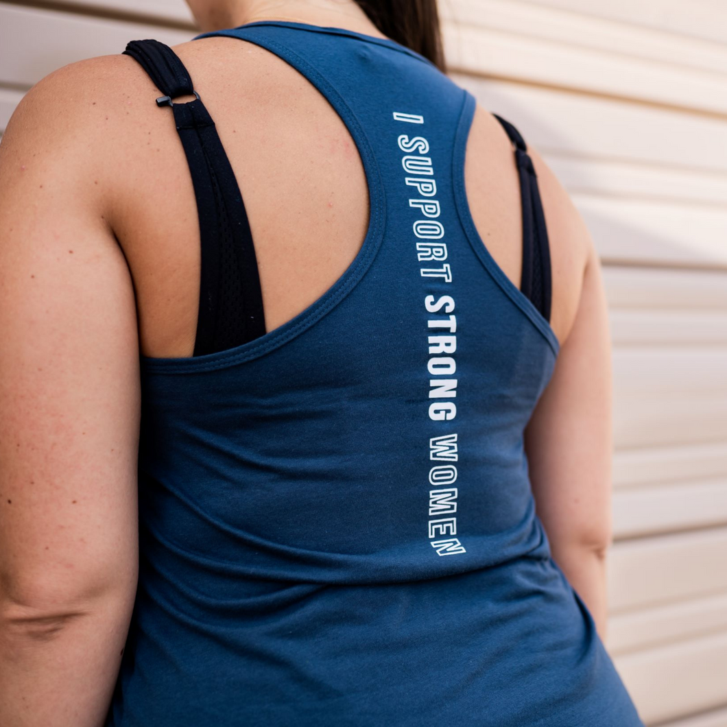 Women's Indigo - I Support Strong Women - Wicked Bombshell Apparel