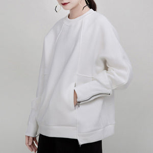 Tallis Minimalist White Sweater