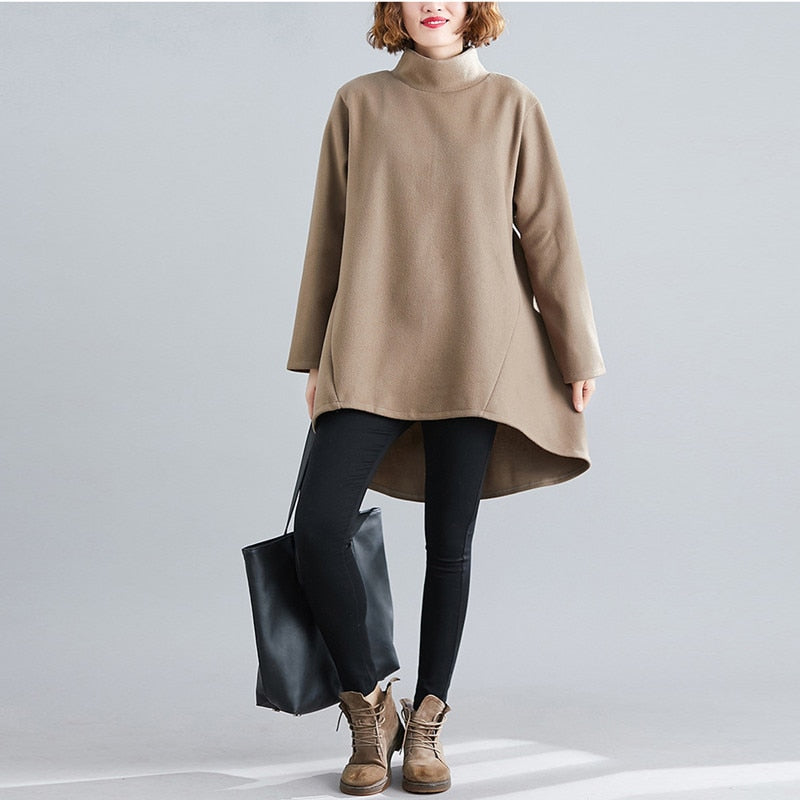 Manon Brown Sweater for Ladies