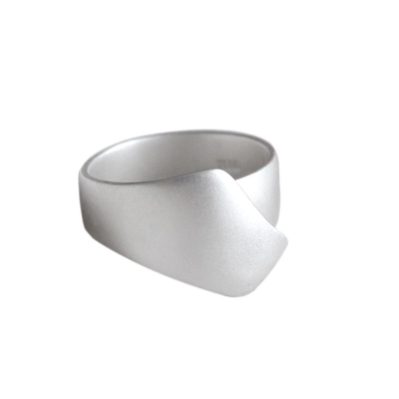 Aimée Minimalist Silver Sterling Simple Ring