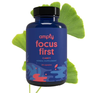 Focus First - Amply Blends | Herbal Solutions | Organic Supplements | Pain Management |