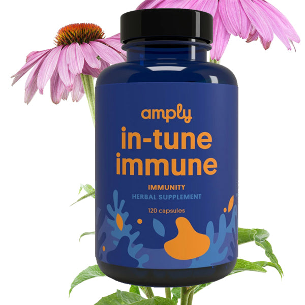 In-Tune Immune - Amply Blends | Herbal Solutions | Organic Supplements | Pain Management |